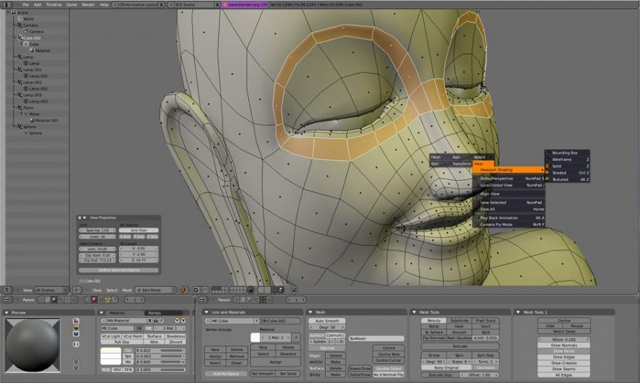 Pourquoi utiliser Blender quand on débute le modélisme et l'animation 3D ?